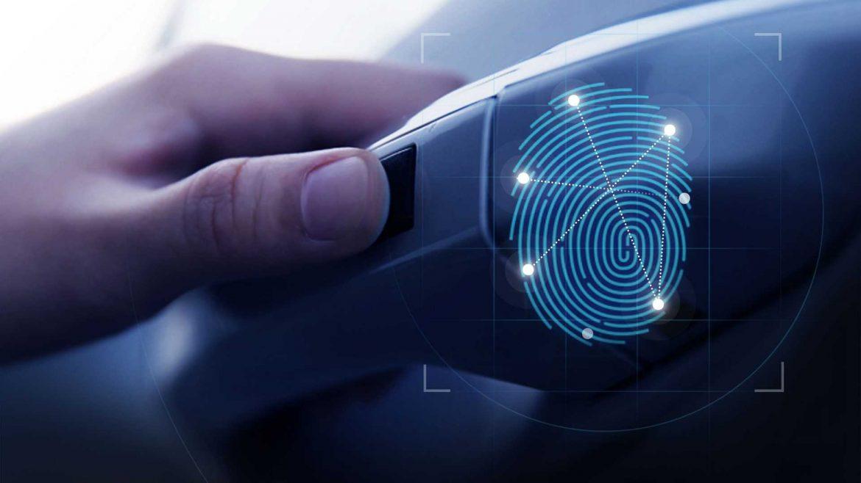Hyundai impronta digitale