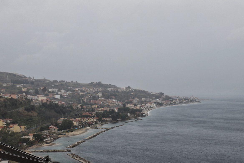 maltempo sullo stretto Reggio Calabria messina