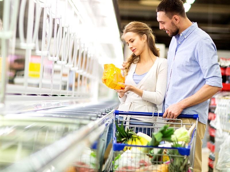Acquisto Surgelati spesa supermercato
