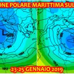 Previsioni Meteo, tutta la verità sull'ondata di freddo e neve del 23-25 Gennaio: sarà un'irruzione polare marittima, colpirà il Centro/Sud [MAPPE e DETTAGLI]