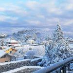 Lo spettacolo della NEVE alle porte di Roma, i Castelli diventano una fiaba. Ancora nevicate in Toscana, i Giorni della Merla si concludono così [GALLERY]
