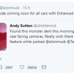 Auto elettriche: Tesla, ecco la modalità sentinella [GALLERY]