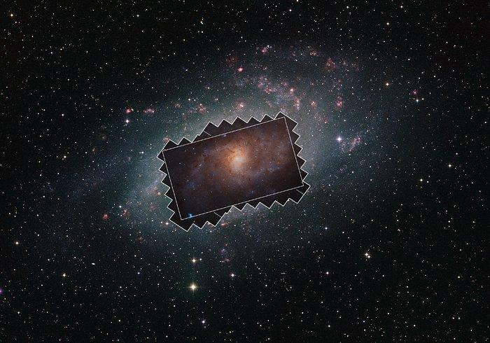 Credit:NASA, ESA, Digitized Sky Survey 2.Acknowledgement: Davide De Martin