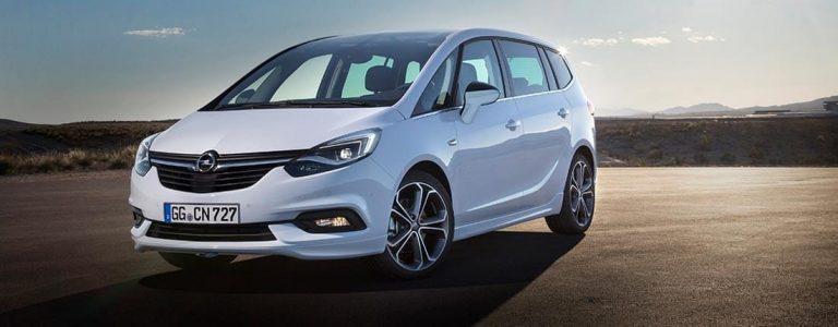 Opel Zafira 30.850 euro