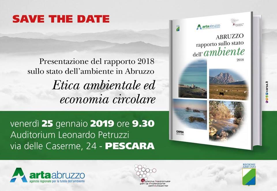 Rapporto Arta sullo stato dell'Ambiente Abruzzo