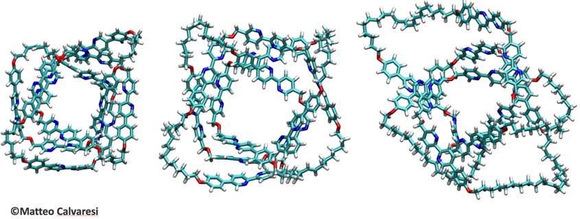 tre nano-nodi molecolari