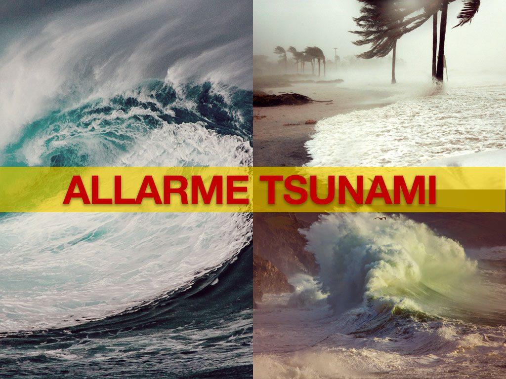 allarme tsunami