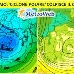 """Allerta Meteo, arriva il """"Ciclone Polare"""": tantissima NEVE sull'Italia a quote bassissime [MAPPE e DETTAGLI]"""