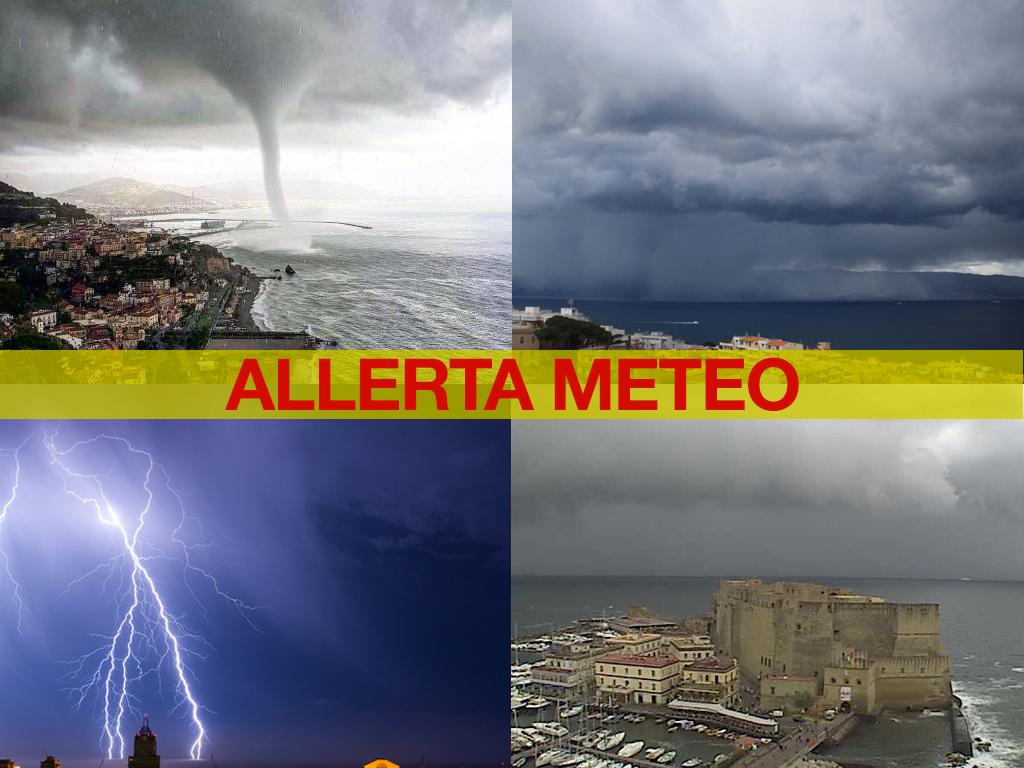 Previsioni Meteo Napoli, è allerta: forti piogge e maltempo a ...