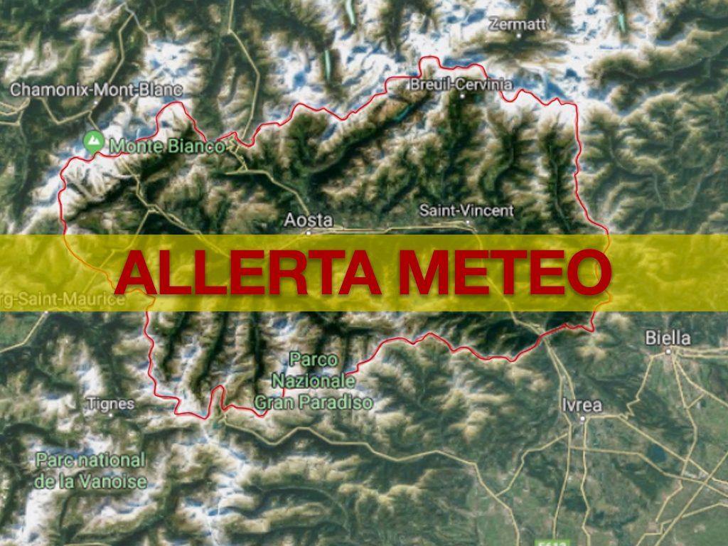 allerta meteo valle d'aosta