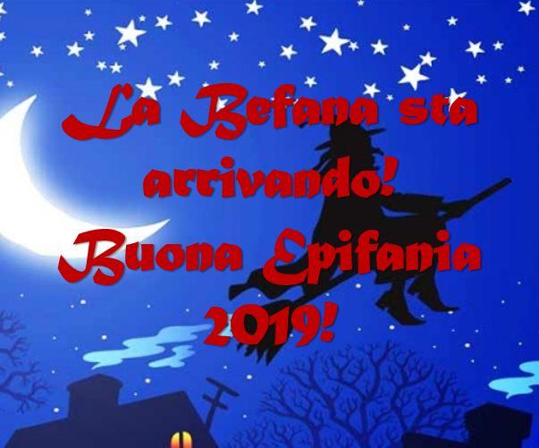 Vigilia Dellepifania 2019 Arriva La Befana Ecco Immagini E Gif