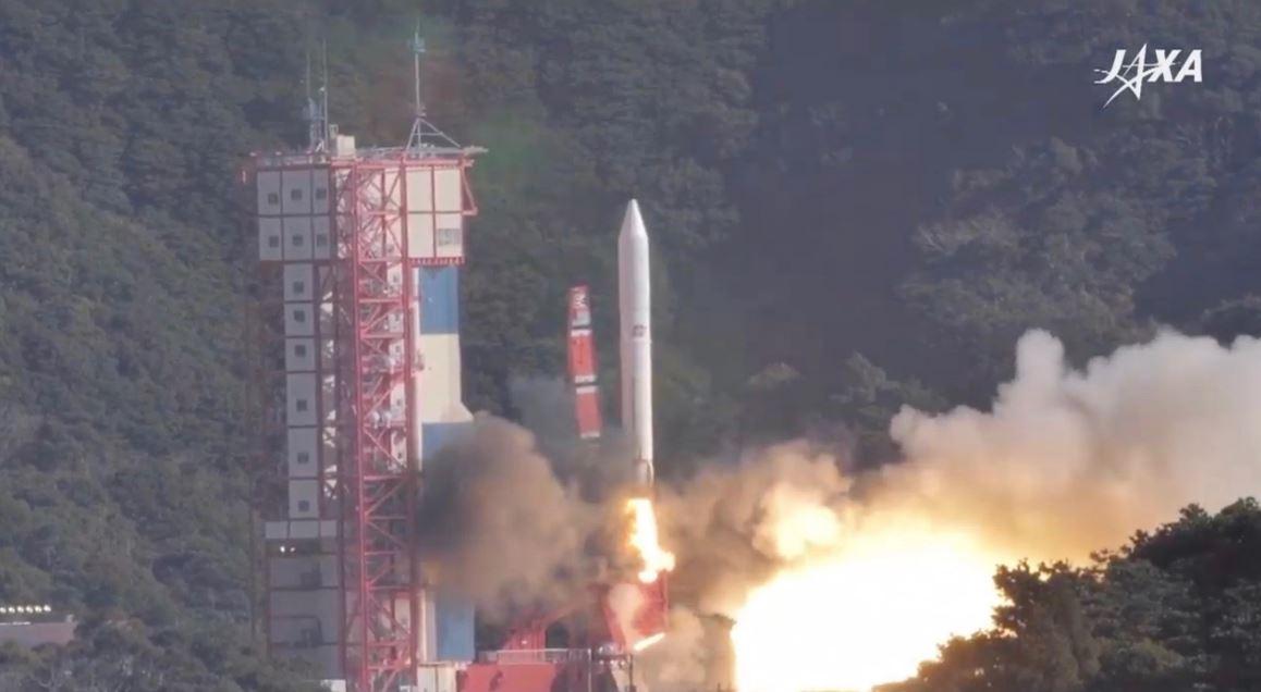 lancio satellite stelle cadenti Giappone JAXA