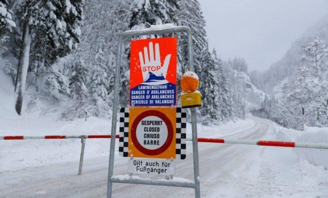 maltempo neve austria germania
