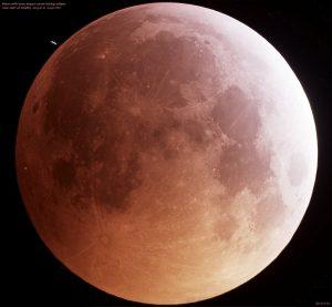 meteorite eclissi luna