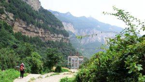 montagna Yunqiu cina