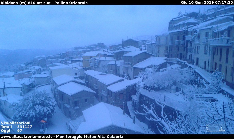 neve Pollino albidona