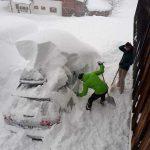 """Allerta Meteo Europa, """"Apocalisse"""" di Neve sulle Alpi settentrionali: Austria, Svizzera e Germania sepolte, situazione drammatica [FOTO]"""