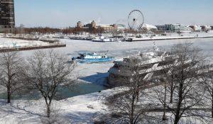 neve freddo chicago