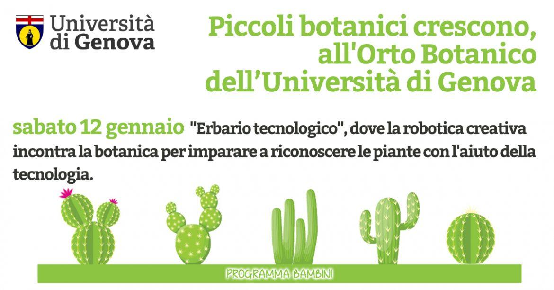orto botanico università genova