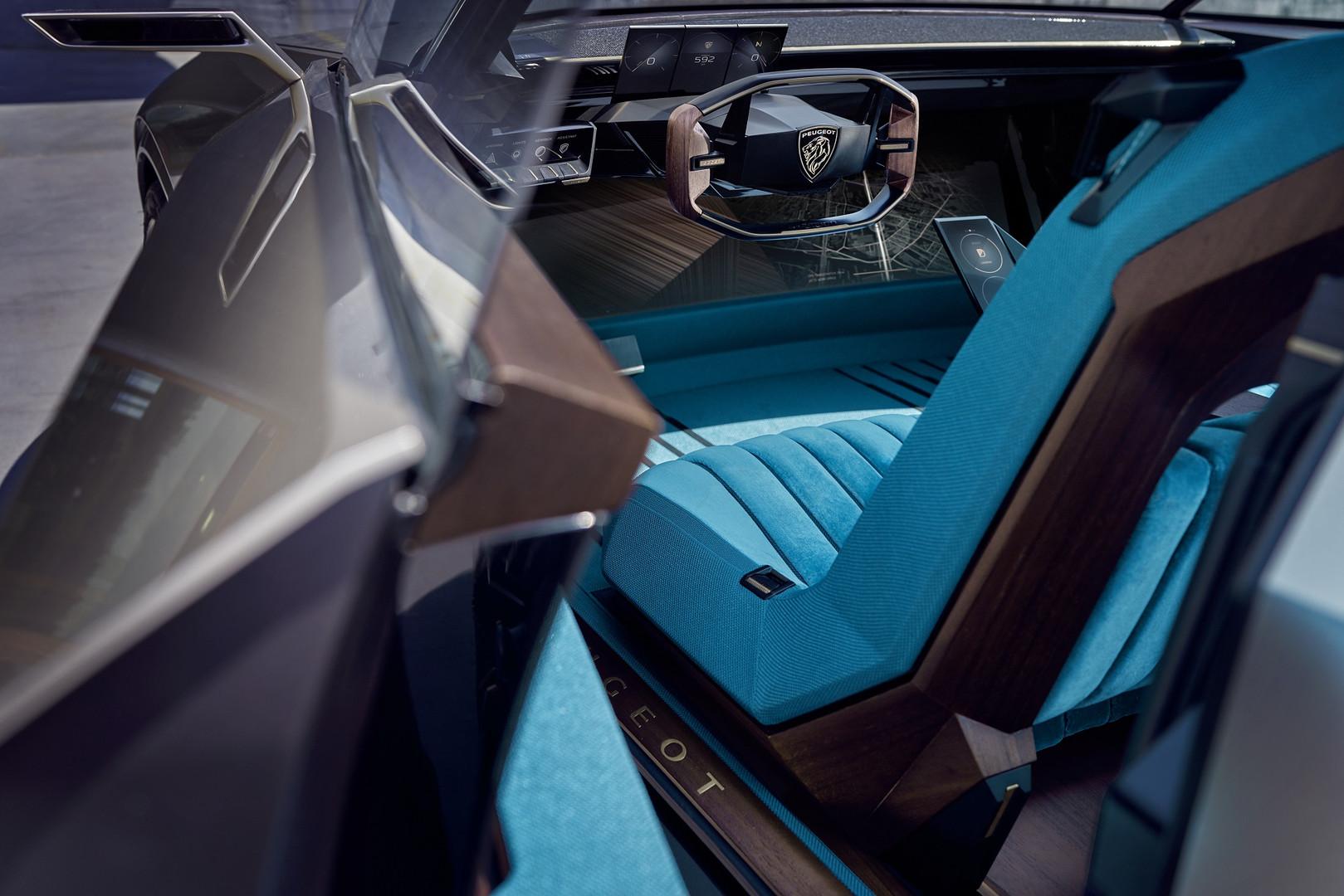 Auto Peugeot Ecco E Legend Totalmente Elettrica E Autonoma
