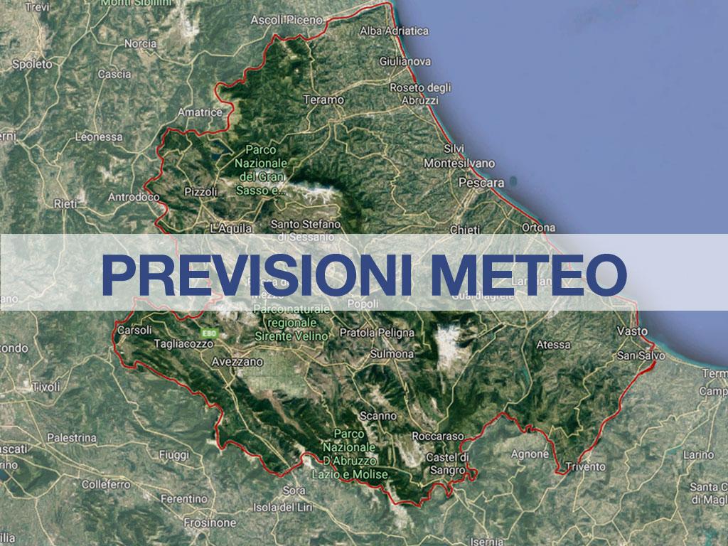 Previsioni Meteo Abruzzo: nevicate in arrivo il 24 e 25 ...
