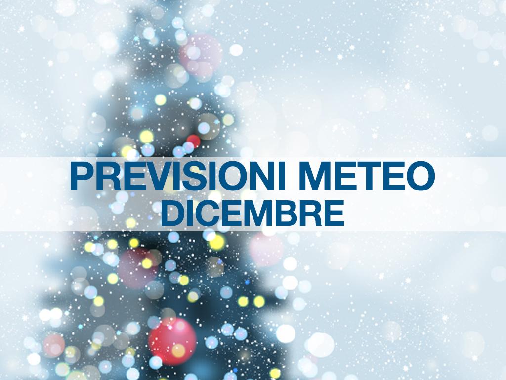 previsioni meteo dicembre