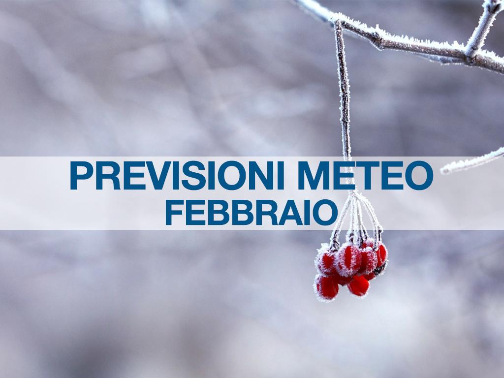 previsioni meteo febbraio