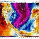 Previsioni Meteo, lo stratwarming scatena una terribile irruzione artica su Canada e nord-est degli USA: tanta neve e temperature percepite di -60°C a fine mese! [MAPPE]