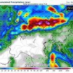 Allerta Meteo, nuova grande tempesta di neve sulle Alpi settentrionali: probabile oltre 1 metro di neve su nord dell'Austria, sud della Germania e Svizzera centro-orientale [MAPPE]