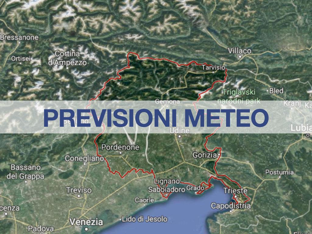 previsioni meteo friuli venezia giulia