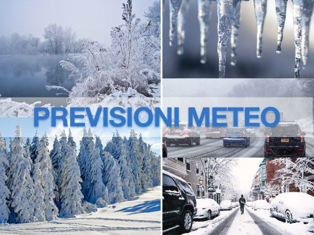 previsioni meteo inverno gelo neve freddo
