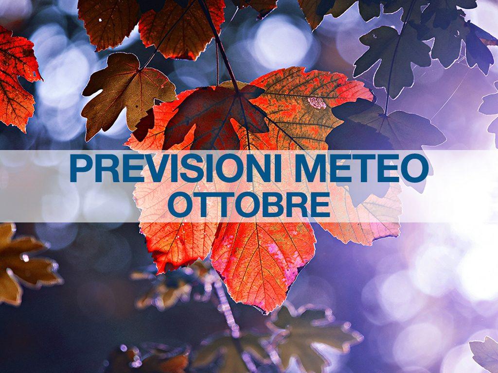 previsioni meteo ottobre