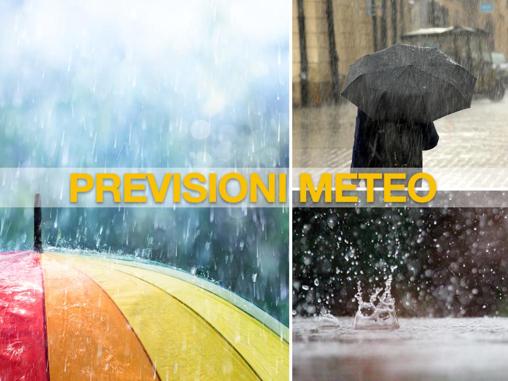 previsioni meteo pioggia maltempo