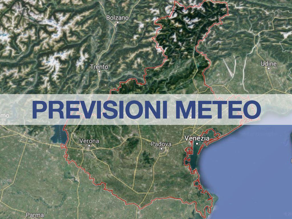previsioni meteo veneto