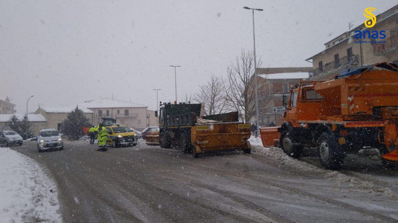 strada neve anas catania