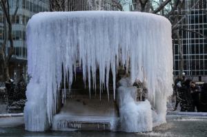Ondata di gelo usa