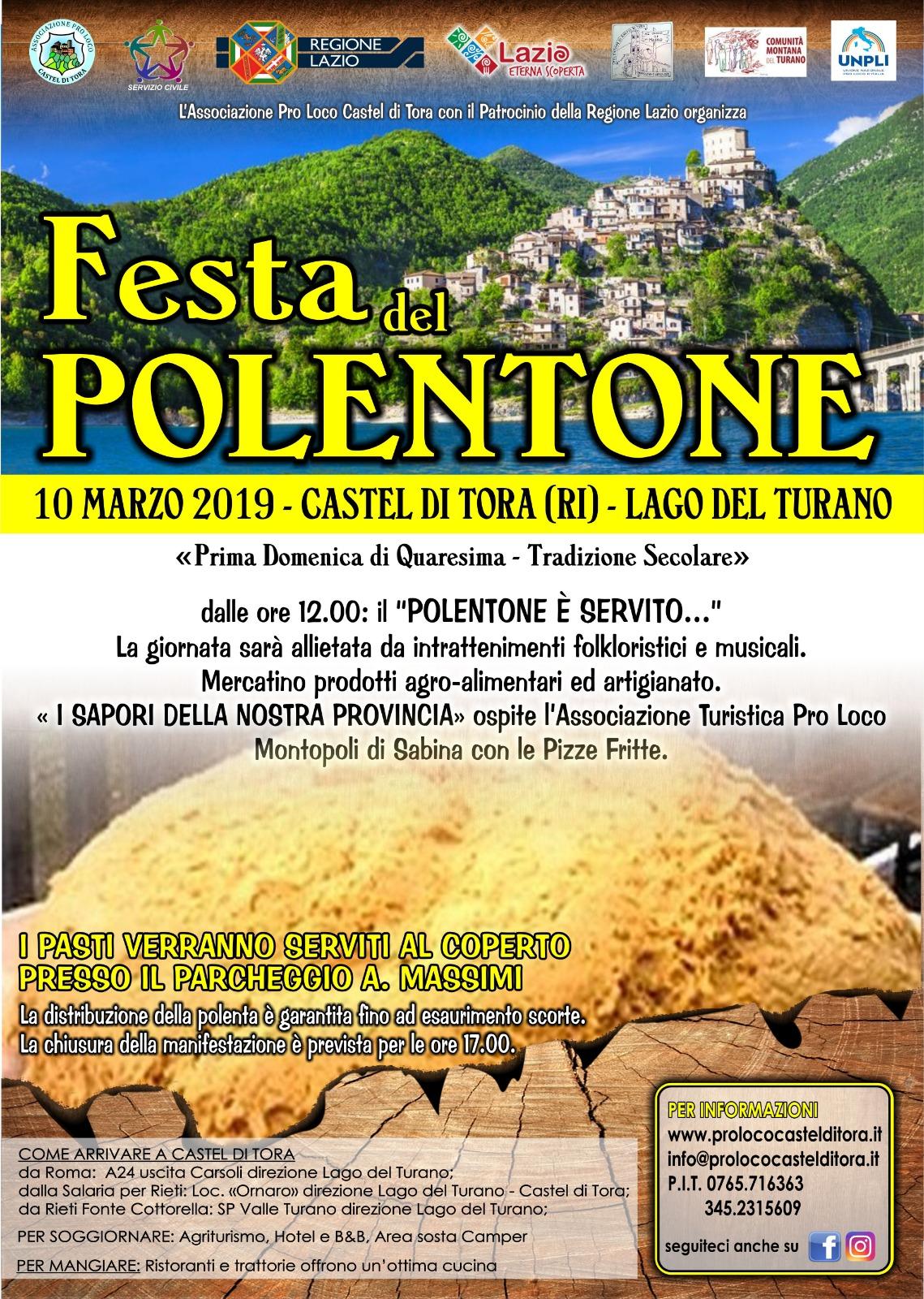 Polentone Castel di Tora