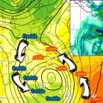 Allerta Meteo, dopo la Sciroccata della Candelora arriva un violento Ciclone sul mar Jonio: scatenerà 48 ore di maltempo estremo al Sud tra Lunedì 4 e Martedì 5 Febbraio