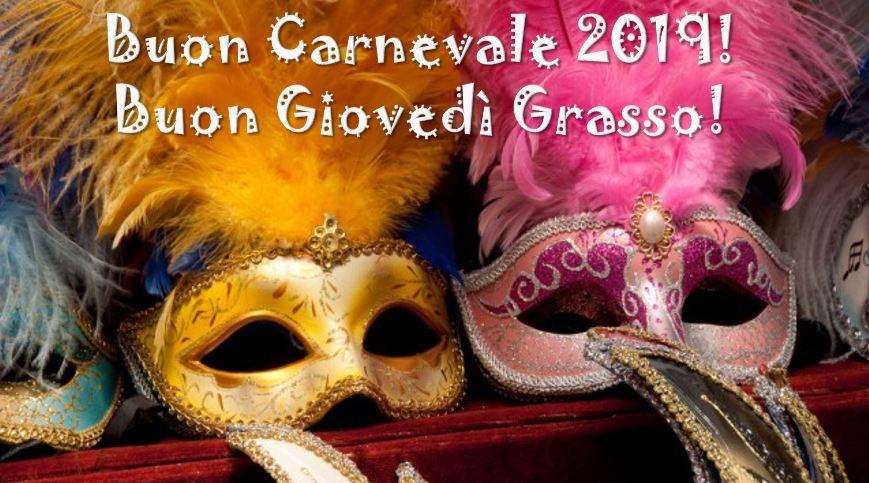 Carnevale 2019 Buon Giovedi Grasso Ecco Proverbi Citazioni E Le