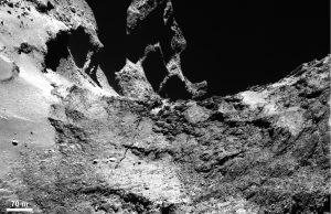 cometa rosetta faglie