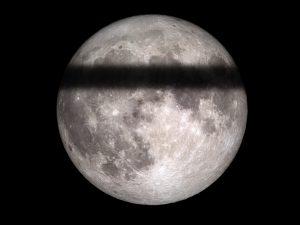 eclissi lunare terra piatta