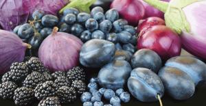 frutta verdura viola
