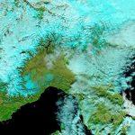 Foehn, sole e caldo al Nord/Ovest: +14°C in pianura Padana [MAPPE e DATI]
