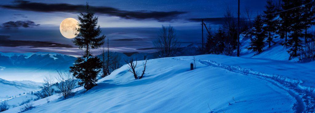 superluna di neve