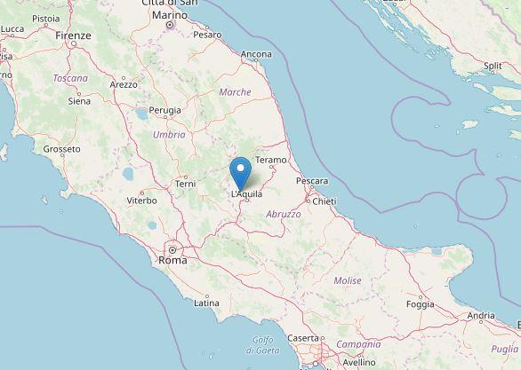 Terremoto L'Aquila: scossa con epicentro a Pizzoli, studenti escono ...