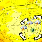 Allerta Meteo: maltempo in Sicilia per una Goccia Fredda nel Maghreb, l'Anticiclone infuoca il Centro/Nord [MAPPE]