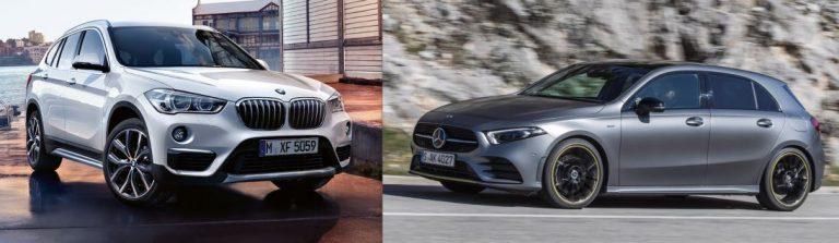 3 STELLE Bmw X1 2.0d e Mercedes-Benz A200