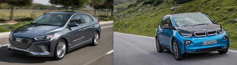 5 STELLE Hyundai Ioniq e Bmw i3 (elettriche)