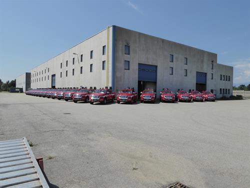 Corpo Nazionale Vigili del Fuoco pick-up FORD Ranger (1)