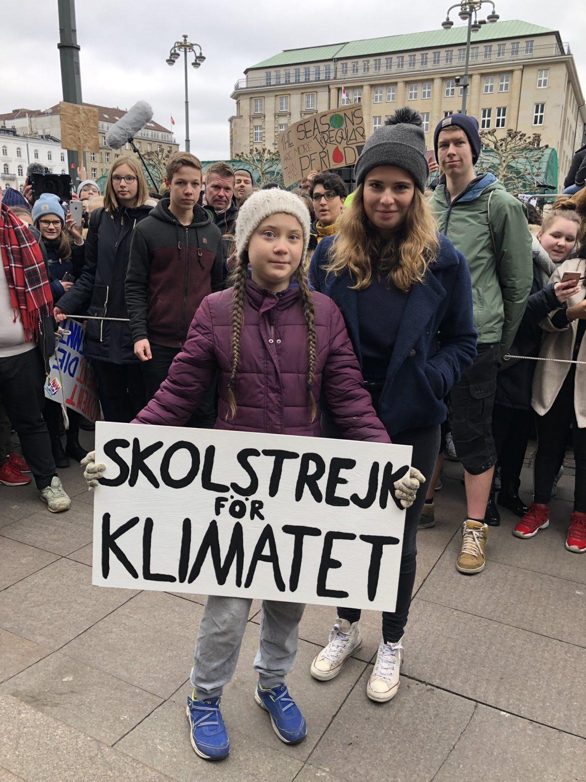 Greta Thunberg 15 marzo